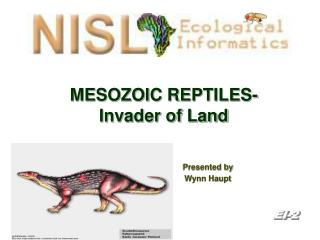 MESOZOIC REPTILES- Invader of Land