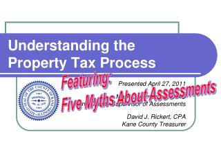 Understanding the Property Tax Process