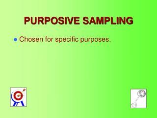 PURPOSIVE SAMPLING