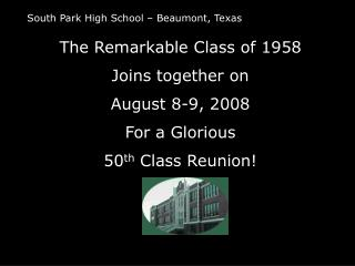 South Park High School – Beaumont, Texas