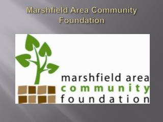 Marshfield Area Community Foundation