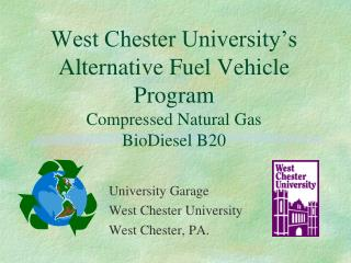West Chester University's Alternative Fuel Vehicle Program Compressed Natural Gas BioDiesel B20
