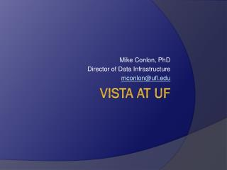 Vista at UF