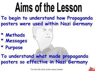 Aims of the Lesson