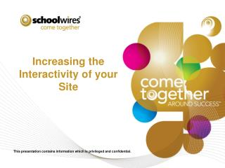Increasing the Interactivity of your Site
