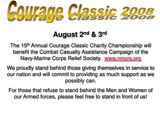 Courage Classic 2008