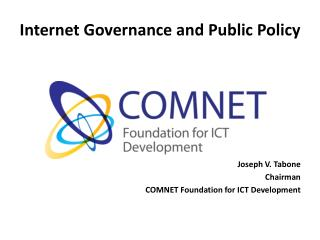 Internet Governance and Public Policy