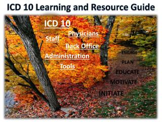 ICD 10 Learning and Resource Guide