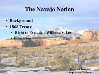 The Navajo Nation