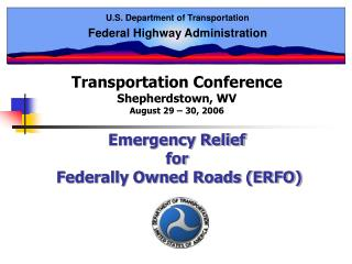 U.S. Department of Transportation Federal Highway Administration