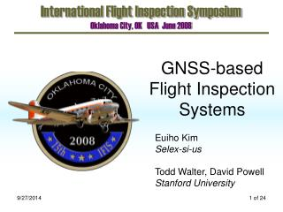 GNSS-based Flight Inspection Systems