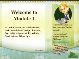 Welcome to Module 1