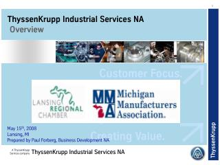 ThyssenKrupp Industrial Services NA  Overview