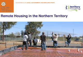 Remote Housing in the Northern Territory