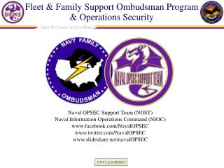 Fleet & Family Support Ombudsman Program    & Operations Security