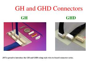 GH and GHD Connectors