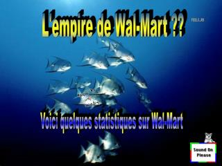 L'empire de Wal-Mart ??