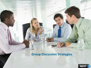Group Discussion Strategies