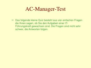 AC-Manager-Test
