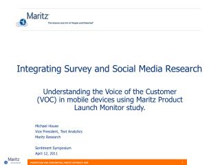 Integrating Survey and Social Media Research