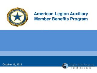 American Legion Auxiliary  Member Benefits Program