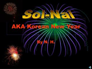 AKA Korean New Year