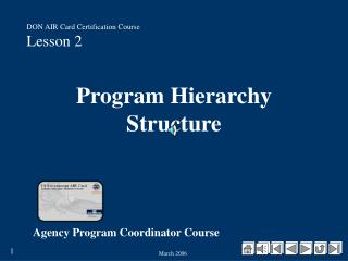 Program Hierarchy Structure
