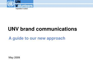 UNV brand communications