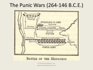 The Punic Wars (264-146 B.C.E.)