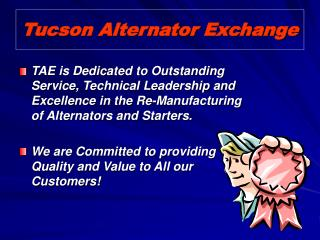 Tucson Alternator Exchange