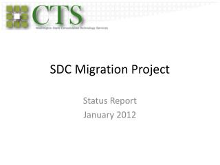 SDC Migration Project