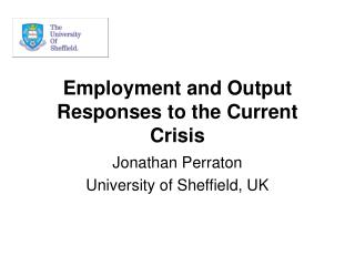 Employment and Output Responses to the Current Crisis