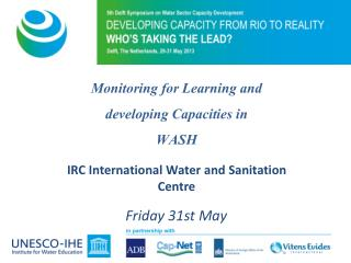 IRC International Water and Sanitation Centre