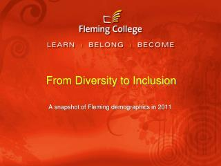 From Diversity to Inclusion