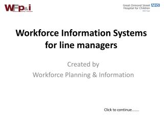 Workforce Information Systems for line managers