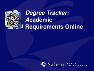 Degree Tracker: A cademic Requirements Online