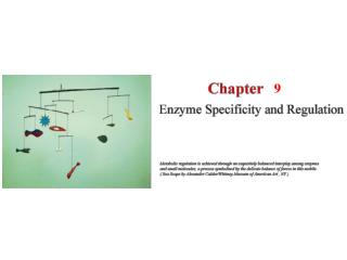 9.1   Specificity Is the Result of Molecular Recognition