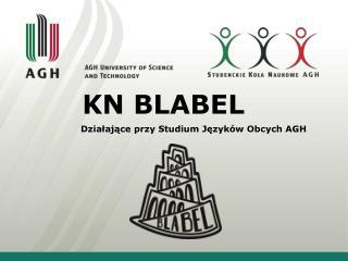 KN BLABEL