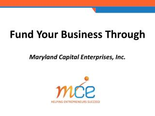 Fund Your Business Through