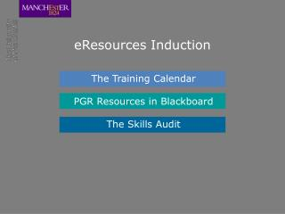 eResources Induction