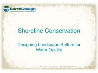 Shoreline Conservation