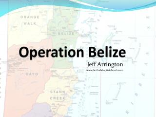Operation Belize