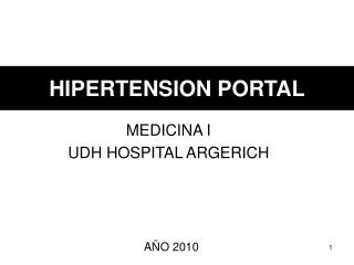 HIPERTENSION PORTAL