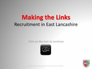 Making the Links Recruitment in East Lancashire