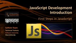 JavaScript Development Introduction