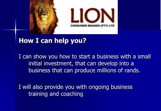 How I can help you?