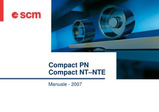 Compact PN Compact NT–NTE