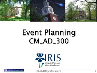 Event Planning CM_AD_300