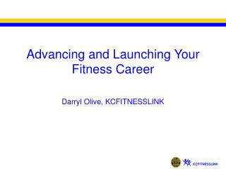 Advancing and Launching Your Fitness Career