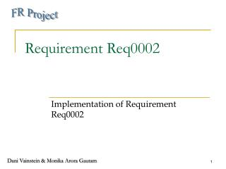 Requirement Req0002